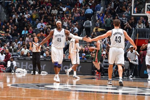 thebrooklynnets:  12.9.12 x vs. bucks