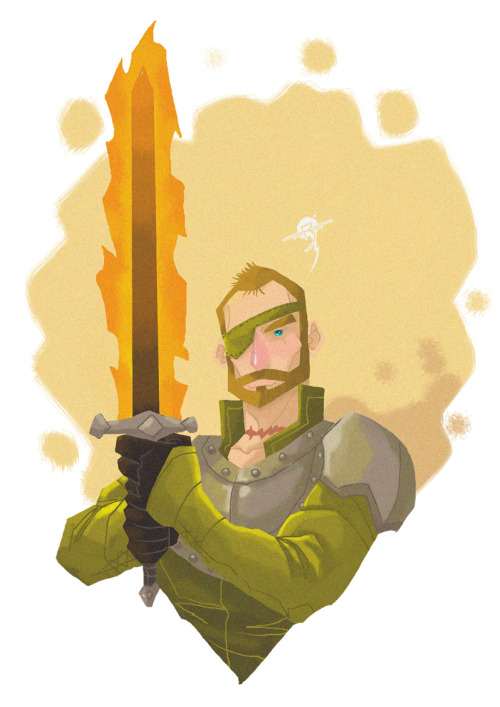 Beric Dondarrion The Lightning Lord  my Game of Thrones fanart. ;p