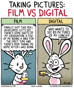 laughingsquid:  Taking Pictures: Film vs Digital