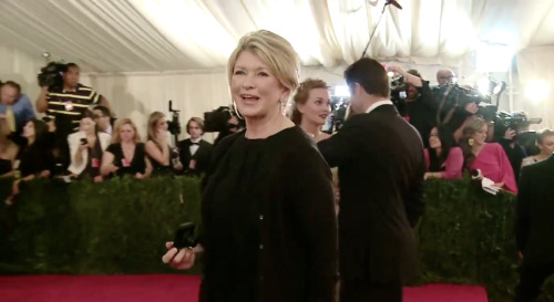 all around badass and tv personality martha stewart at the met gala 2012