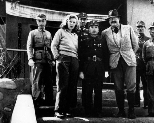 "Caroline Moorehead writes about journalist Martha Gellhorn's relationship with Ernest Hemingway in The Telegraph:   In real life, Gellhorn never talked about Hemingway. He was a taboo subject even among close friends. It was partly a question of manners and privacy, about which she felt passionately. But it was also a question of pride; a refusal to become, as she put it, ""a footnote in someone else's life"". Celebrity and all it entailed was abhorrent to her; to derive fame from a failed marriage to a man who thrived on it would have been demeaning. She was a reporter who wrote about injustice and the hard lives of ordinary people, and it was as such, and only as such, that she wished to be known.  ""Hemingway and Gellhorn: a pairing of flint and steel"" Caroline Moorehead is the editor of the Selected Letters of Martha Gellhorn and author of Gellhorn: A Twentieth-Century Life. [Photo credit: via]"