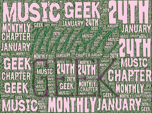 Music Geek Monthly 25 is this Thursday at 8pm. Chapter arts centre…It's going to be a blast!