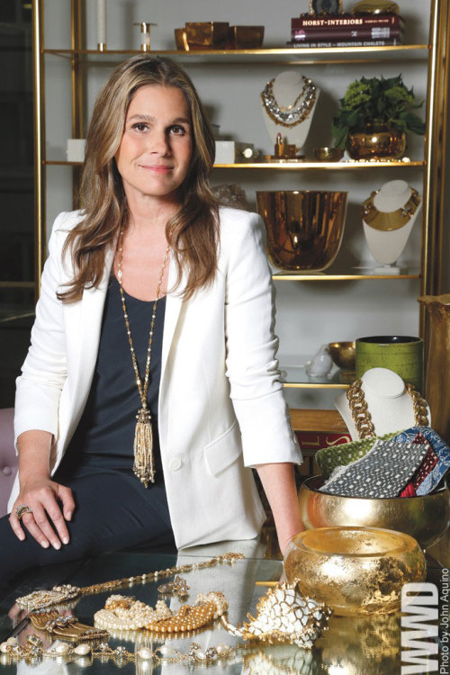womensweardaily:  Aerin Lauder: Building on a Family's Legacy Following in the footsteps of her larger-than-life grandmother, Aerin Lauder has become a brand. That has become obvious in the last nine months as the 43-year-old granddaughter of Estée Lauder crisscrossed North America with side trips to the U.K. to make a half-dozen in-store appearances and press the flesh at beauty adviser breakfasts. All of this was driven by a need to support and promote the first three installments of what will be a sprawling array of merchandise, comprising a lifestyle brand emblazoned with the name Aerin, with different product categories licensed to different companies, ranging from cosmetics to jewelry to shoes to lamps, furniture and rugs.  For More Here, an in-depth interview with the creator of the brand.  http://lacashproductions.tumblr.com/