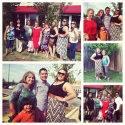 Mother's Day with my moms family! :) #mothersday #family