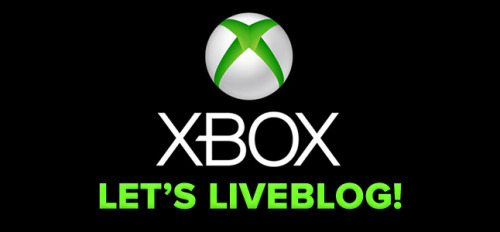 We're liveblogging the reveal of the new Xbox. Come join us as we marvel at the marvels and poke fun at the fun.