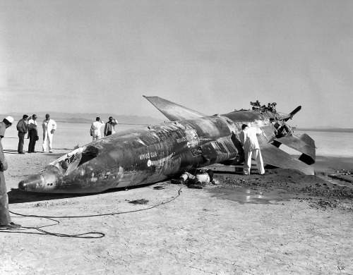 1962 … broke it! (by x-ray delta one) X-15 crash. The pilot , John McKay survived.