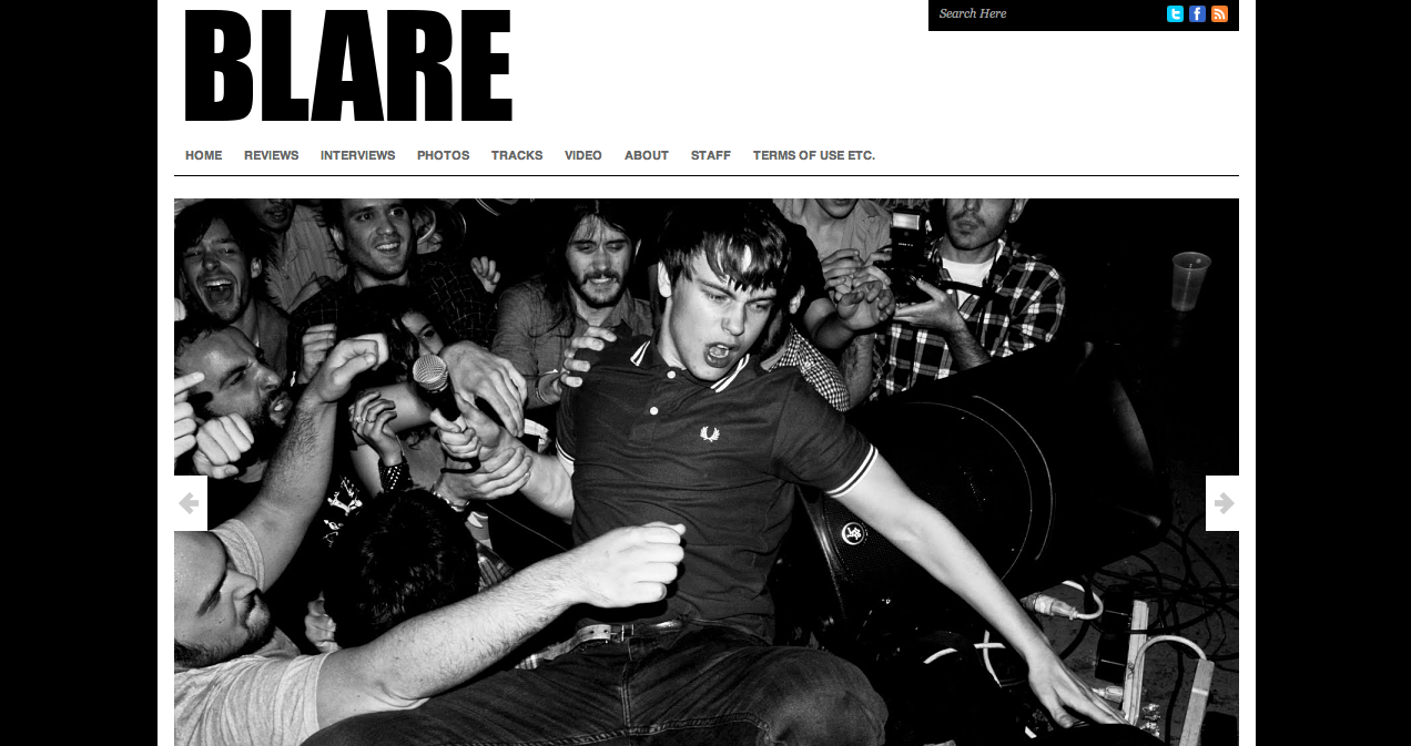 Recently helped in development of the re-launch of Blare Magazine's website. CHECK IT. blaremagazine.com devanpower.com
