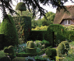 wanderthewood:   Hidcote Garden, Gloucestershire, England by richwall100