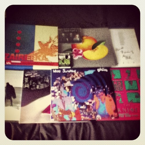 Stuff I've got recently: RSD Stuff: The Flaming Lips - Zaireeka Cut Copy - Bright Like Neon Love James Blake - Retrograde MGMT - Alien Days ('Cassingle')  Other Stuff: The Knife - Shaking The Habitual Phoenix - Bankrupt! (Signed) Paramore - Self-Titled (CD)