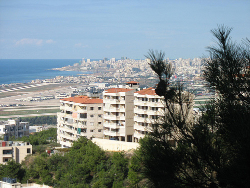 Beirut- A view From Bshamoun, Lebanon