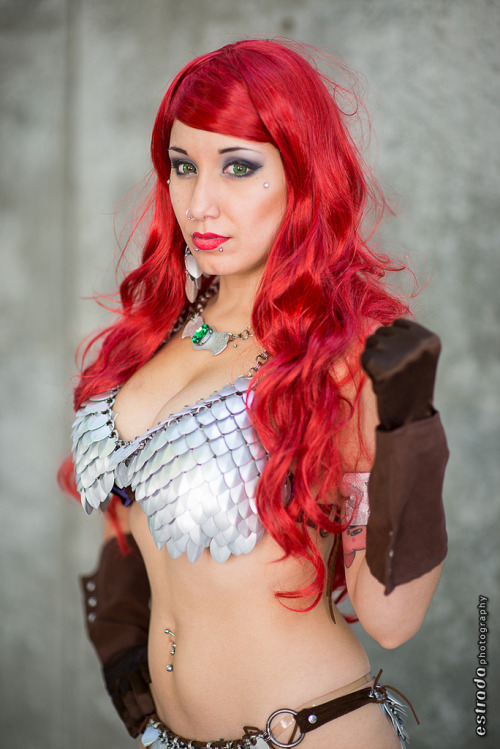 Rosanna Rocha as Red Sonja, Big Wow! ComicFest 2013 (by The.Erik.Estrada)