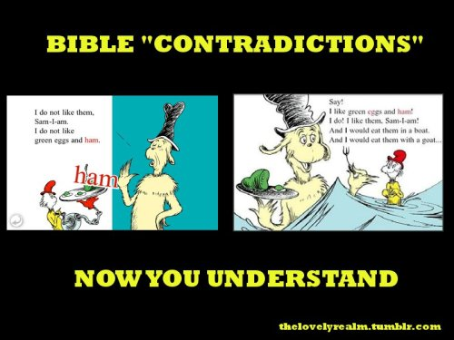 Bible 'Contradictions""