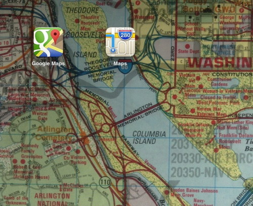 Google Maps have an app for the iPhone at last! Awesome?  Our options for getting around are only increasing, but without more comprehensive apps we may wind up going in circles on our phones first.  Read more of Rob Pegoraro's Apple Maps vs. Google Maps head-to-head.