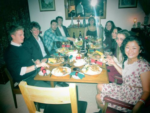 chloedoesireland:  Thanksgiving, Irish style.