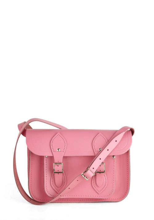 Shop the Upwardly Mobile Satchel in Pink by Cambridge Satchel Company»