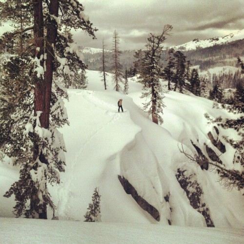 Curtis Woodman preparing to get wild in the backcountry. Follow him on Instagram at @insta_wood