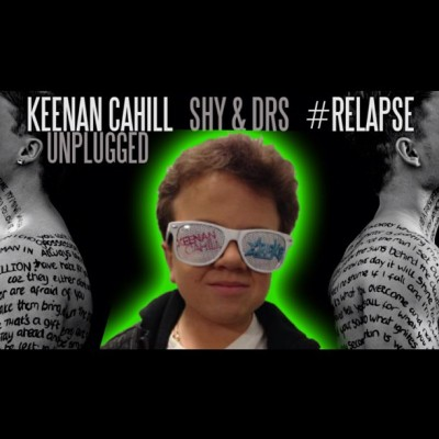 "Us: ""Keenan, you up for doing another #video to #RELAPSE with you singing the chorus? Keenan: ""Yeah let's do it"" :D This is what happened…. Watch our new Vid here: http://youtu.be/nvS-4t18zcI #viral #video #youtubesensation #music #remix #cover #legend #funny #hiphop #rap #rnb #keenancahill @keenancahill44 #genius x"