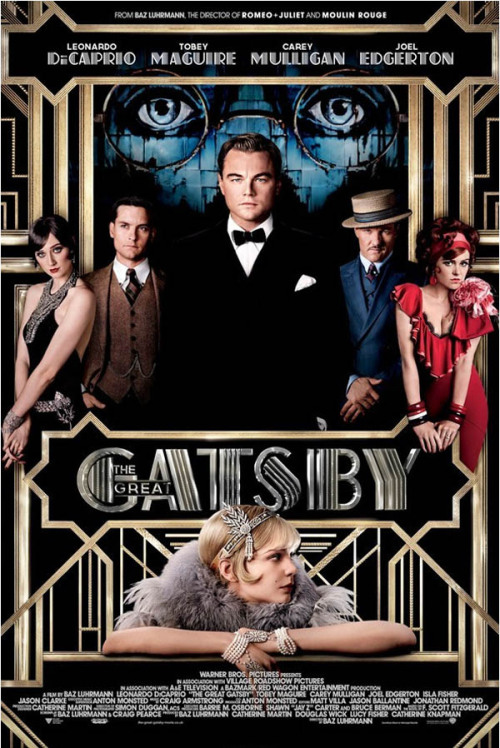 The Great Gatsby Sydney, Australia-based Like Minded Studio collaborated with Baz Luhrman, Catherine Martin and the Bazmark team to develop the branding for The Great Gatsby. Design Inspiration on WE AND THE COLORWATC//Facebook//Twitter//Google+//Pinterest