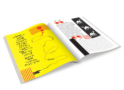 "Publication Design - iamlovechild A magazine inspired by Dadaism that was printed and handed out for free in Long Street, Cape Town as part of a social experiment.   The idea was to instigate a social revolution by pretending it was already happening. The result was that the words ""Social Revolution"" started appearing in other magazines and on blogs / social media sites. Everyone had their own opinion on what a social revolution is which was exactly the goal; to discuss and question."