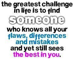 THE GREATEST CHALLENGE IN LIFE….