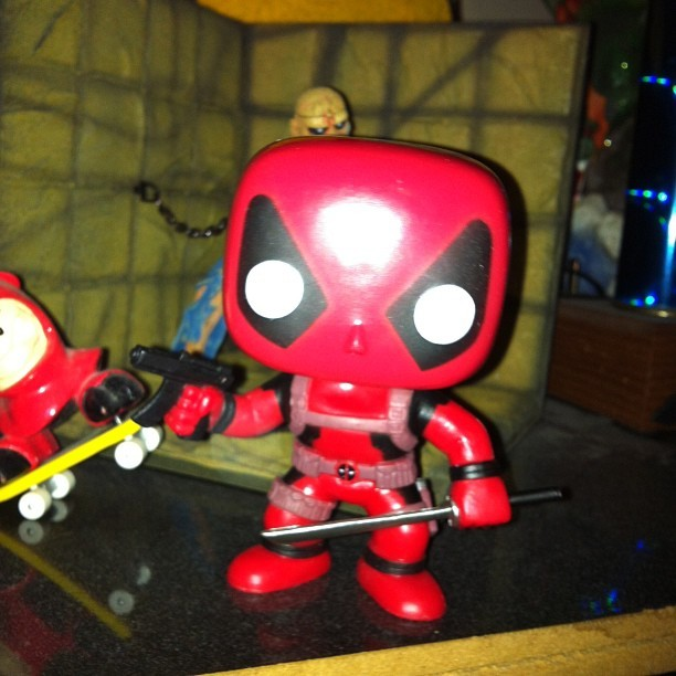 Dead pool bobble head! Heck yes!