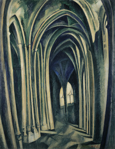 Robert Delaunay, Saint-Severin No. 3, 1909-10
