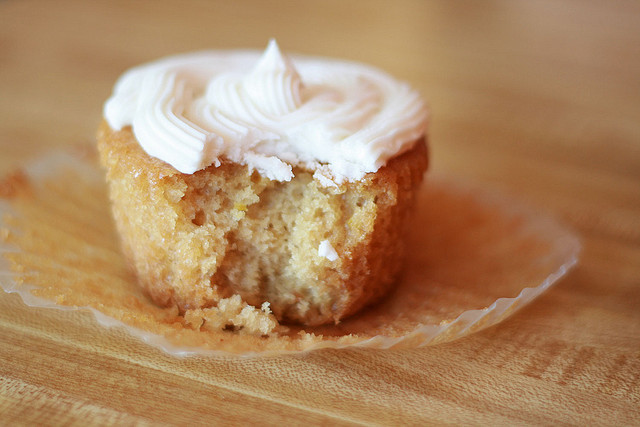ambiverts:  lemon creme cupcake by simple tess on Flickr.