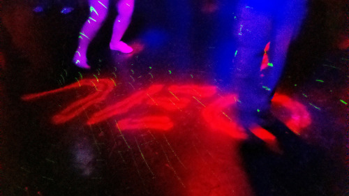 New dance floor at Neo Nightclub, yay!