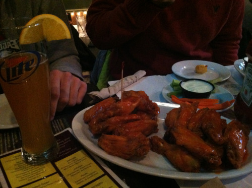 Buffalo Wings and Beer, Tabu Sports Lounge, Philadelphia, PA