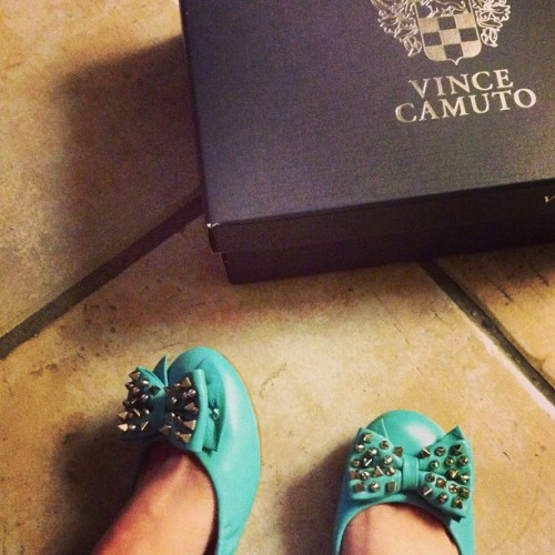 Another to add to my collection <3 #neverenoughshoes #vincecamuto