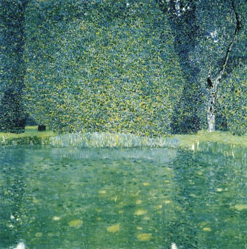nowallsaround:  Gustav Klimt - The Park of Schloss Kammer, ca, 1910