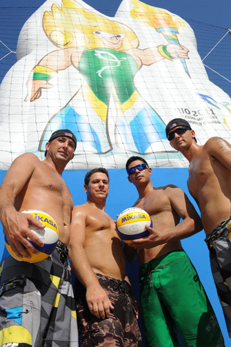 #bros and their (#volley)#balls, a winning combination…     #topher ;)  tell your friends and tweet us @BestOfBromance!