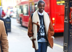 Leomie Anderson — such a London lady #BigUp