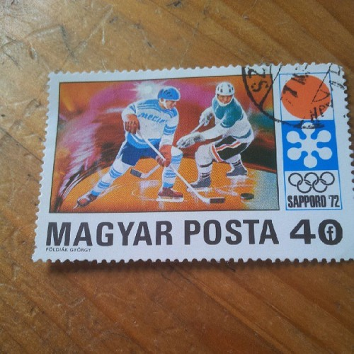 Check out this one @floroo17 Sapporo Olympics 1972, ice hockey #stamps #stampcollecting #philately