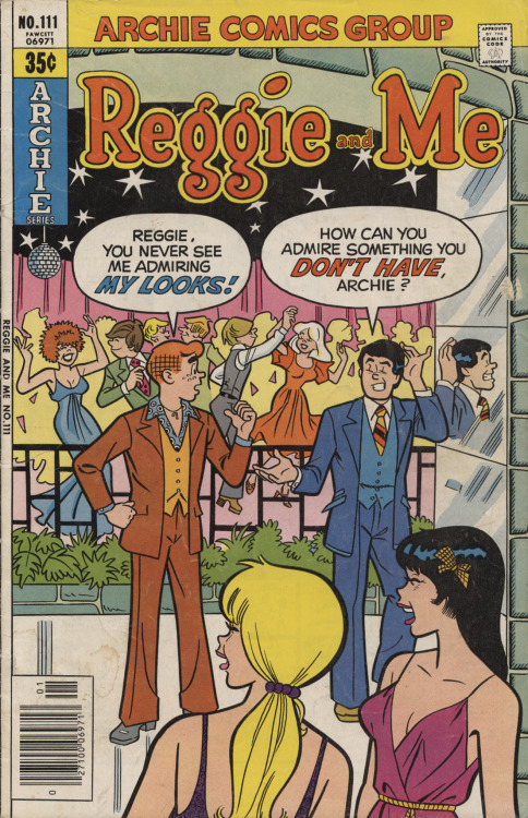 Reggie And Me #111, January 1979, cover by Dan DeCarlo