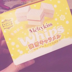 おいしーのっ⋈ @noa__xxx から(´๑•ω•๑`)♡   #sweets #snack #japanese #yummy #meltykiss #choco #chocolate