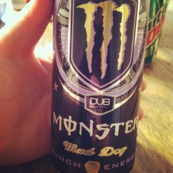 Ahmazing. #monster #dubedition #maddog #punchenergy #yum