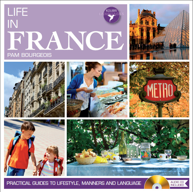 LIFE IN FRANCE new book from Kolibri Languages collection available for sale 08 April 2013 http://www.linguaproduction.com/kolibri/en/books/life-in-france.html