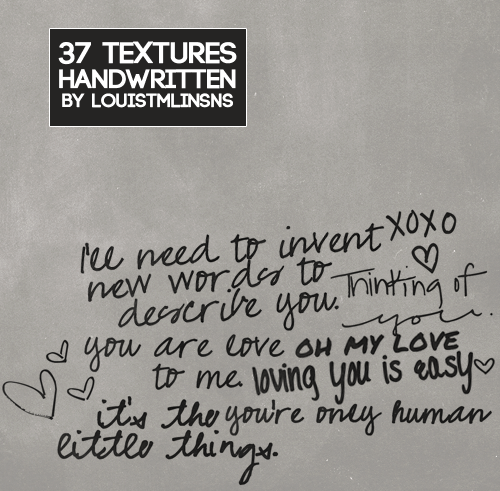 louistmlinsns:  Texture Pack #01 → download box / mf 37 textures handwritten do not redistribute or claim as your own like this post if downloading