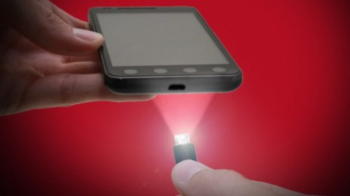 LED-packing USB cable minimizes after-dark phone-charging fumbles    This simple but useful concept is not yet available, however. Its creator, Dustin Orndorff from Winchester (VA), has hit the pages of Kickstarter to bring his idea to market. The early bird specials have all been snapped up by eager after-dark gadget users, so anyone wanting to secure a 3 ft USB Micro Light charging cable will have to stump up at least US$14, while the 6 ft version will require a pledge of $16. (via LED-packing USB cable minimizes after-dark phone-charging fumbles)