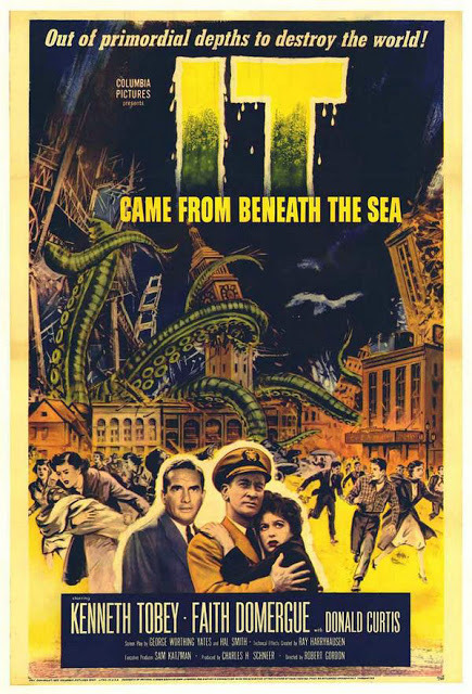 One-sheet for It Came from Beneath the Sea (1955).
