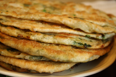 oisso:   Chinese Green Onion Pancake
