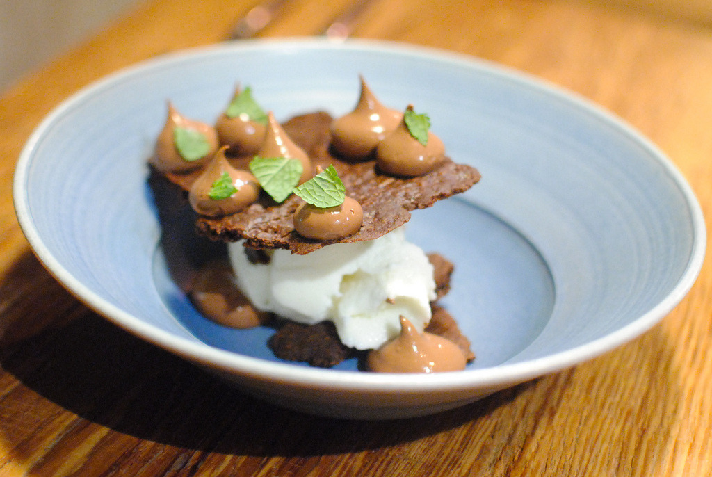 MINT CHOCOLATE CREAM, MILK ICE CREAM, CHOCOLATE COOKIE (by Darin Dines)