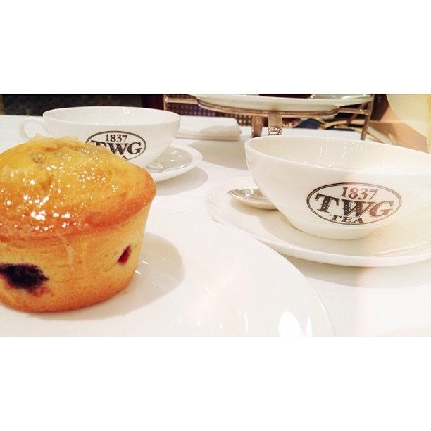 Tea Time!  (at TWG Tea Salon & Boutique)