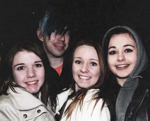 Just Josh being creepy like always :*