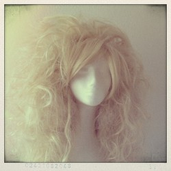 Finally done with the work on this Vanilla Kingdom wig for a customer :)