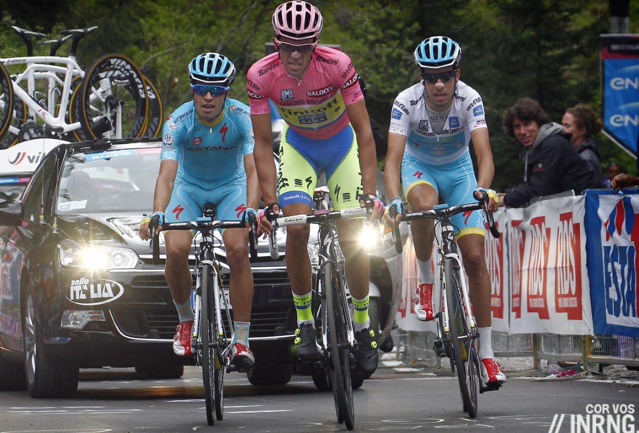 Landa Contador Aru Giro 2015