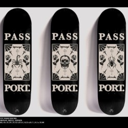 New boards for @pass_port always a good time - shop local and support Australian skateboarding !