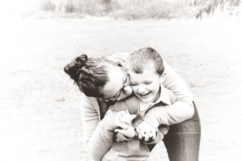 My friend Melissa and her son Tyson.