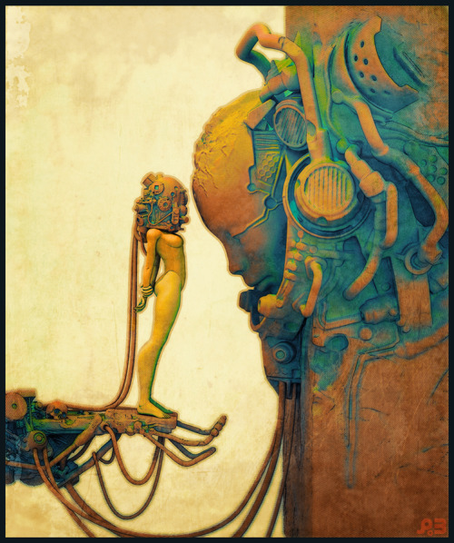 We are the robots ilustradores Pascal Blanché